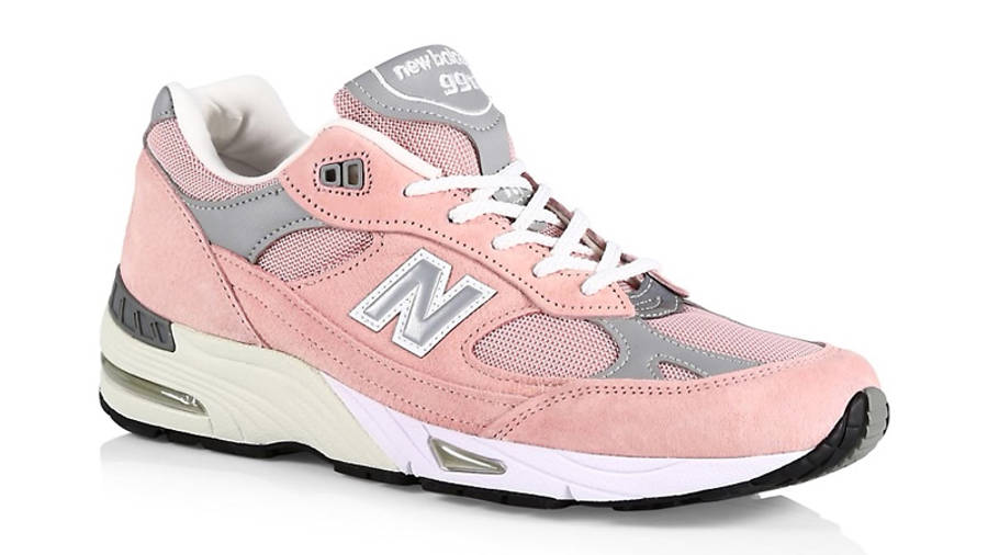 New Balance 991 Shy Pink Front
