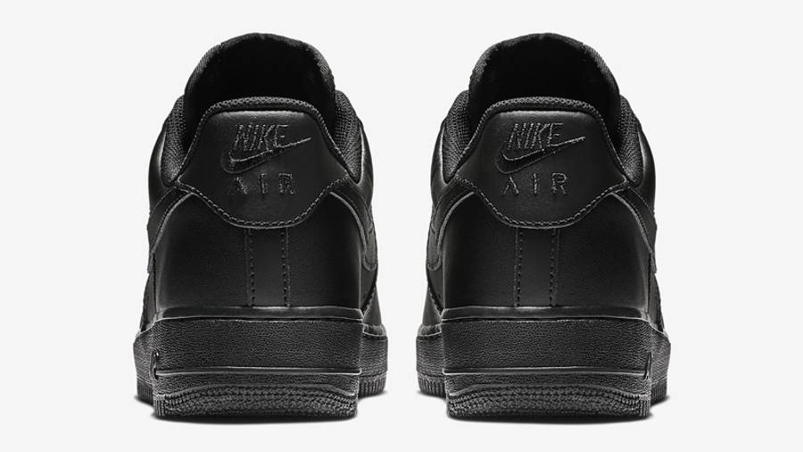 Nike Air Force 1 07 Black Back