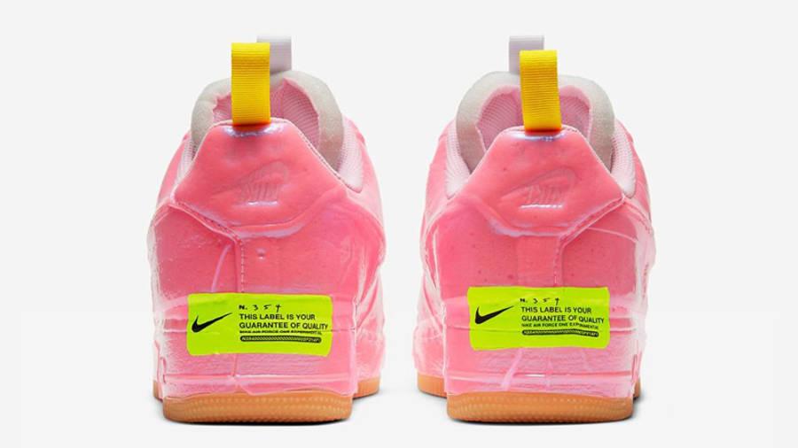 Nike Air Force 1 Experimental Pink Back