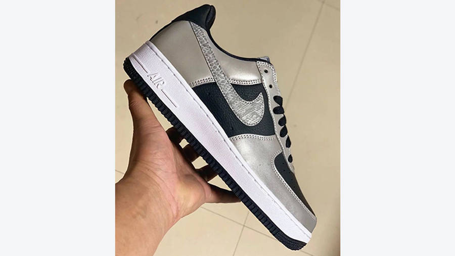 Nike Air Force 1 Low B Co JP 3M Snake DJ6033-001 in hand