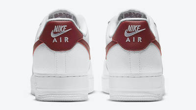 Nike Air Force 1 Low Team Red Back