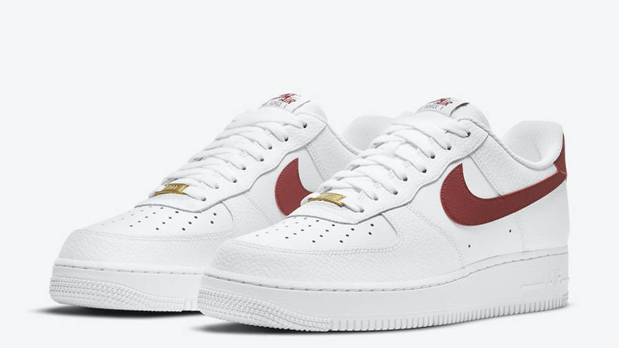 Nike Air Force 1 Low Team Red Front