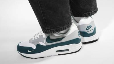 Nike Air Max 1 LV8 Dark Teal Green On Foot Side