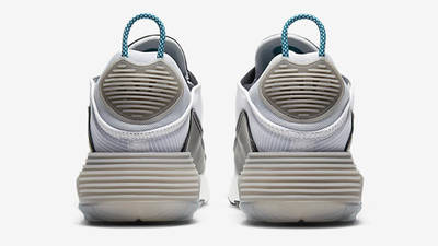 Nike Air Max 2090 White Green Abyss Back