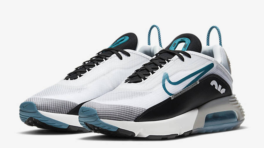 Nike Air Max 2090 White Green Abyss Front