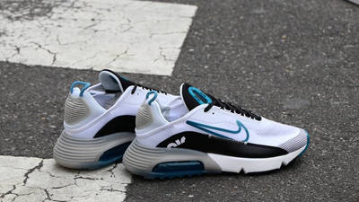 Nike Air Max 2090 White Green Abyss Lifestyle