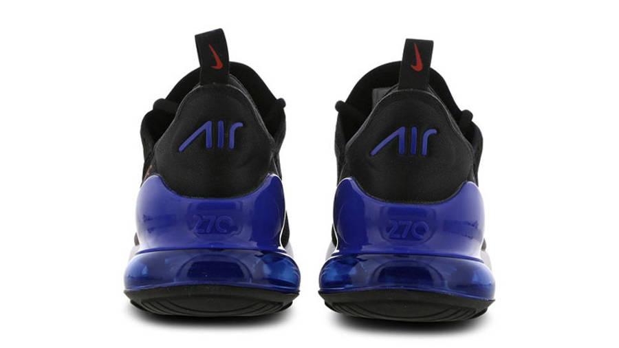Nike Air Max 270 Black Hyper Royal Back