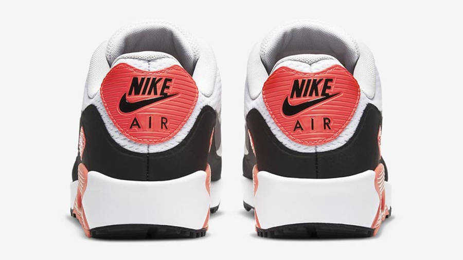 Nike Air Max 90 Golf Infrared Back
