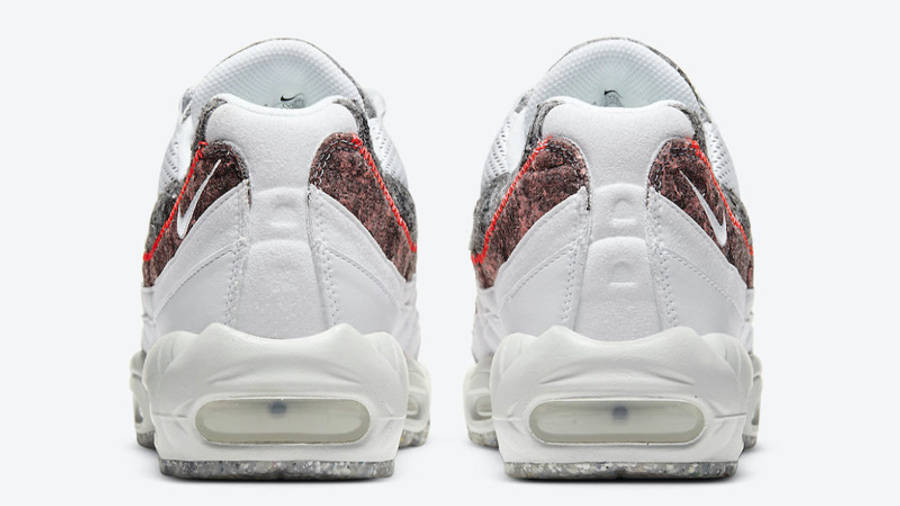 Nike Air Max 95 Crater White Grey Back
