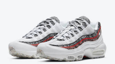 Nike Air Max 95 Crater White Grey Front