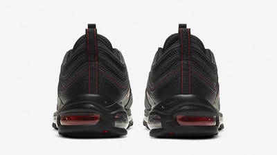 Nike Air Max 97 Black Smoke Grey Red DH4092-001 back
