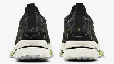 Nike Air Zoom Type Black Electric Green CW7157-001 back
