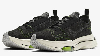 Nike Air Zoom Type Black Electric Green CW7157-001 front