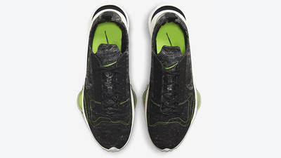 Nike Air Zoom Type Black Electric Green CW7157-001 middle