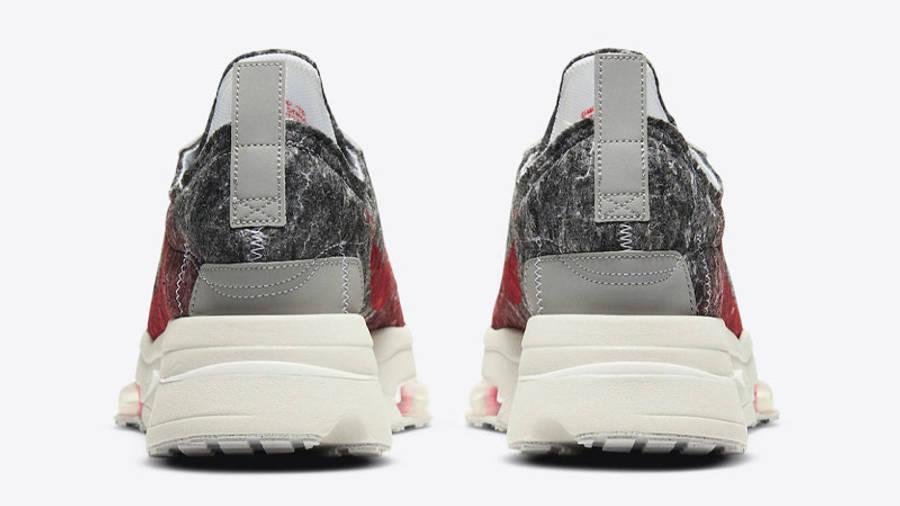 Nike Air Zoom Type Bright Crimson Black Back