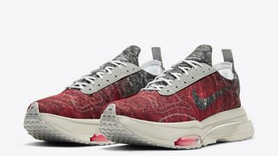 Nike Air Zoom Type Bright Crimson Black Front