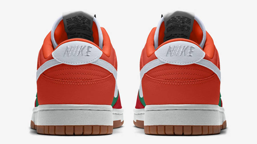 Nike Dunk Low By You Back