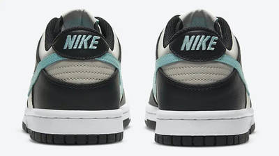 Nike Dunk Low GS Black Tiffany Blue CW1590-003 back