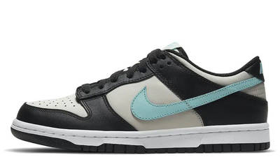 Nike Dunk Low GS Black Tiffany Blue CW1590-003