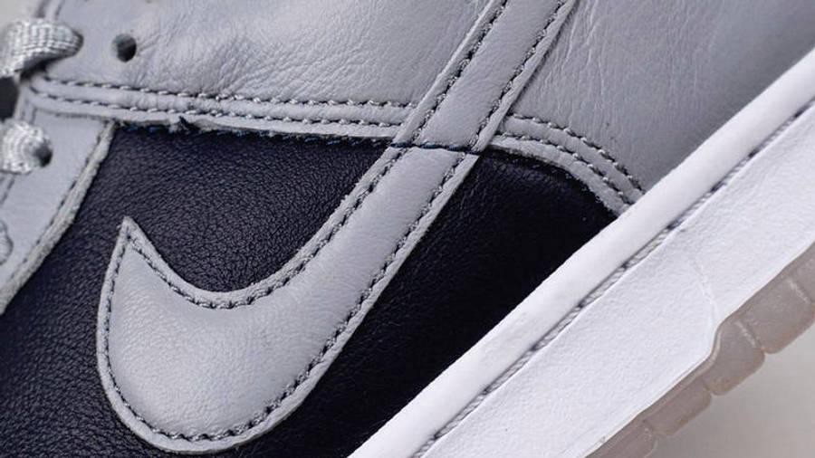 Nike Dunk Low SP College Navy Closeup