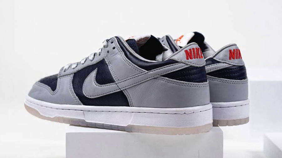 Nike Dunk Low SP College Navy Detailed Look Back