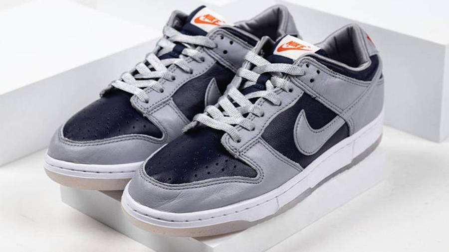 Nike Dunk Low SP College Navy Detailed Look Front