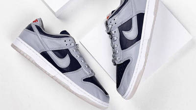 Nike Dunk Low SP College Navy Detailed Look Top