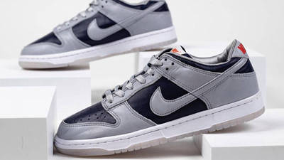 Nike Dunk Low SP College Navy Detailed Look