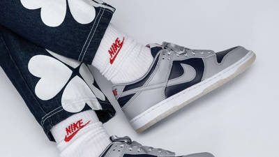 Nike Dunk Low SP College Navy On Foot