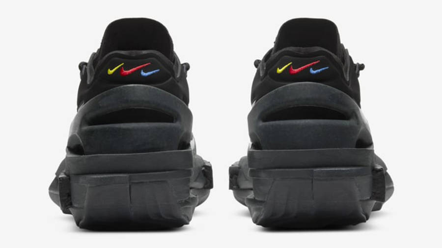 Nike Fontanka Edge Triple Black Back