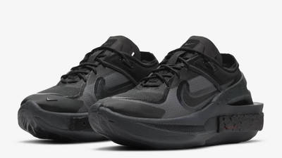 Nike Fontanka Edge Triple Black Front