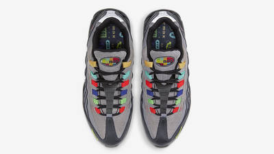Nike Air Max 95 Essential Light Charcoal Red Black Middle