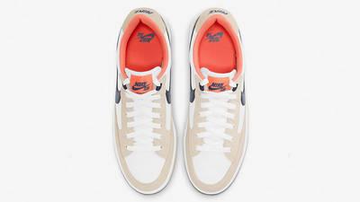 Nike SB Adversary Premium White Turf Orange CW7456-102 middle