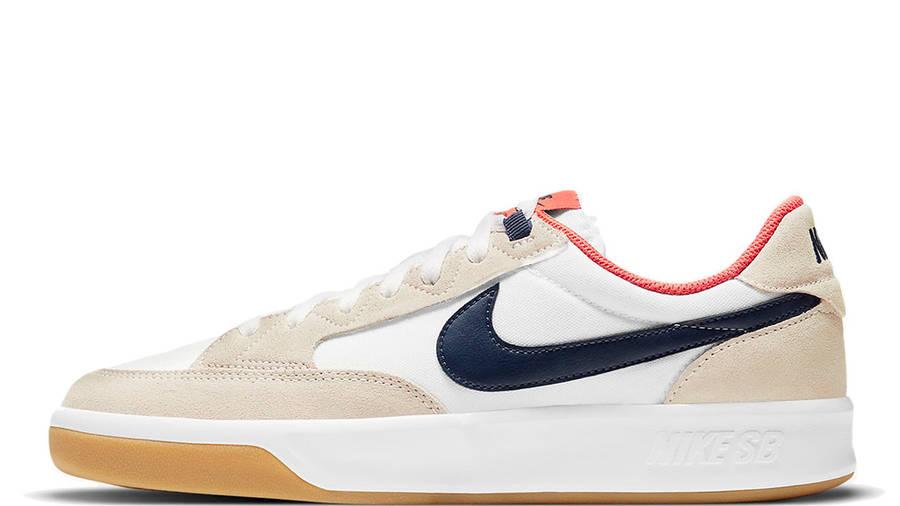 Nike SB Adversary Premium White Turf Orange CW7456-102