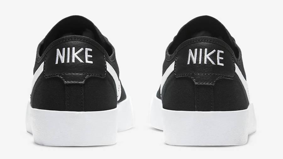 Nike SB Blazer Coat Black White Back