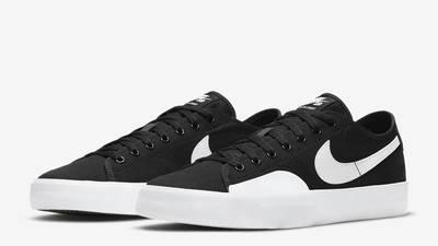 Nike SB Blazer Coat Black White Front