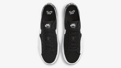 Nike SB Blazer Coat Black White Middle