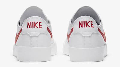 Nike SB Blazer Coat White University Red Back