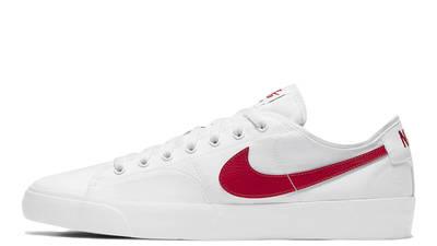 Nike SB Blazer Coat White University Red