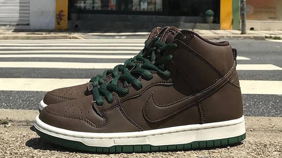 Nike SB Dunk High Baroque Brown First Look