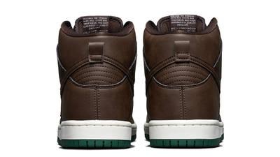 Nike SB Dunk High Vegan Baroque Brown Back