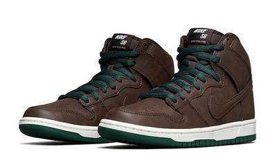 Nike SB Dunk High Vegan Baroque Brown Front