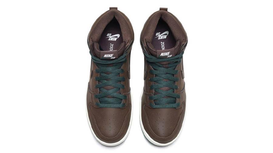 Nike SB Dunk High Vegan Baroque Brown Middle