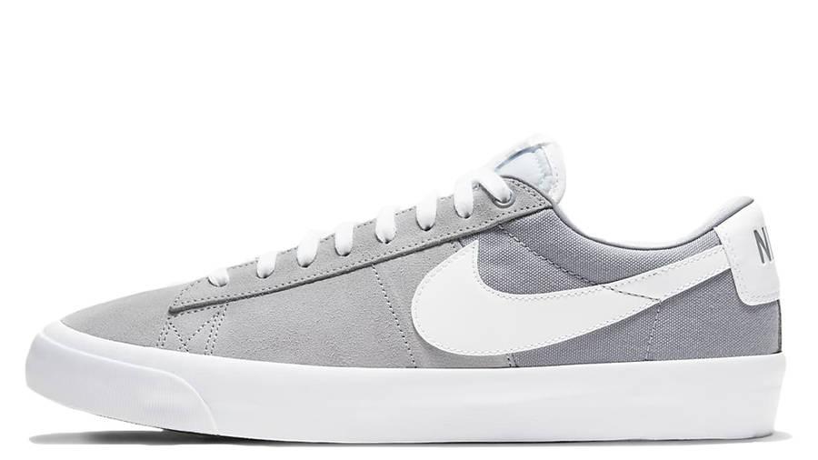 Nike SB Zoom Blazer Low Pro GT Wolf Grey