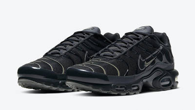 Nike TN Air Max Plus Black Grey DH4100-001 front