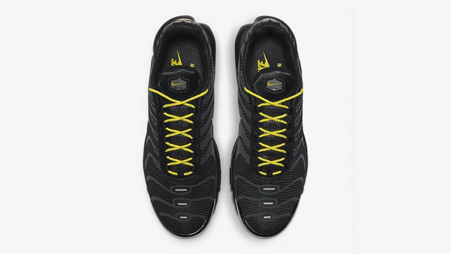 Nike TN Air Max Plus Black Yellow DD7112-002 middle