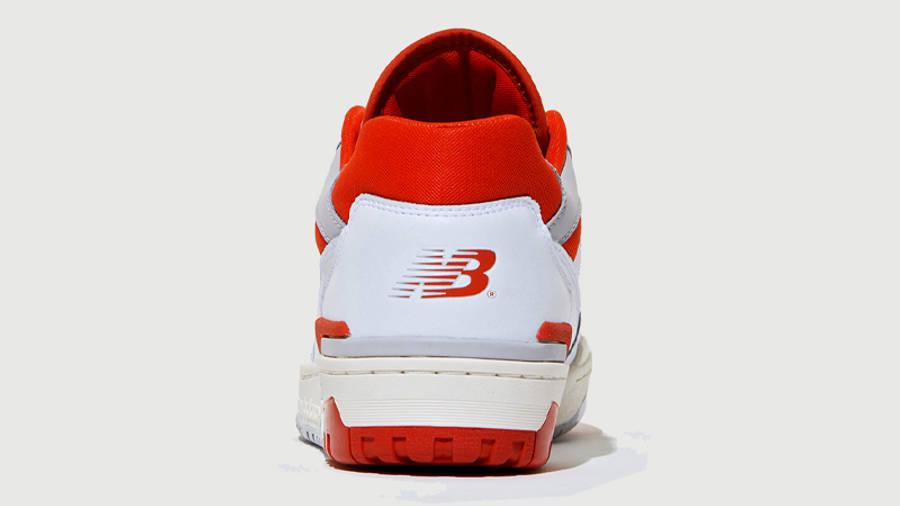 size? x New Balance 550 White Red Back