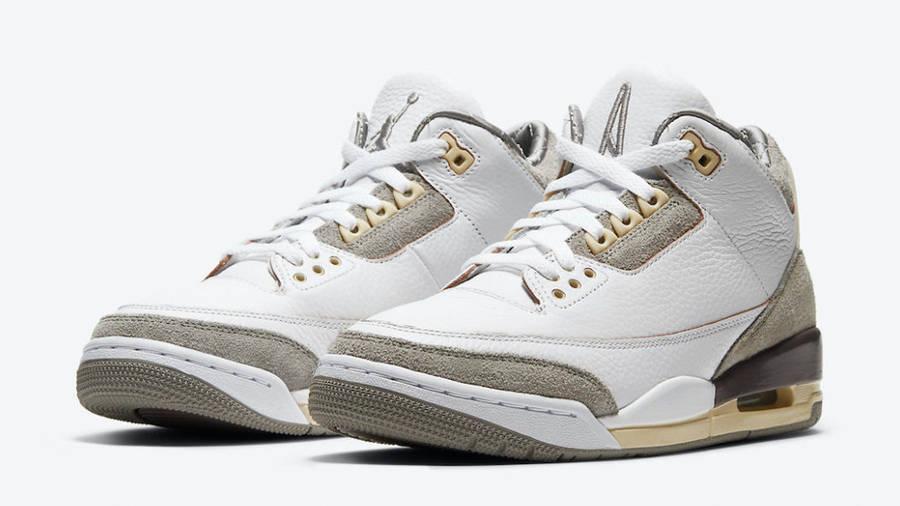 A Ma Maniere x Jordan 3 White Front