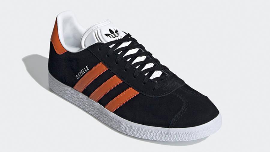 adidas Gazelle Core Black Orange Front