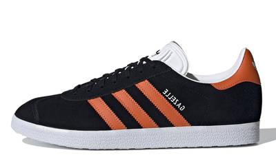adidas Gazelle Core Black Orange
